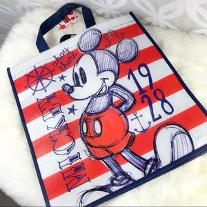 Disney Mickey Mouse Ahoy There Reusable Tote NWT